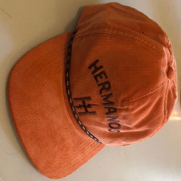 9cf50d99d4232 Howler Bros Hermanos SnapBack orange cord NWT new
